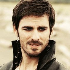 "Hook on Once Upon A Time..OK, seriously a bad boy but a romantic too;) ""Well I quite fancy you, when you're not yelling at me."""