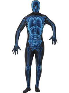 067690b80a0d X-Ray Second Skin Adult Costume includes a skin suit with a concealed fly  and under chin opening. Show  em what you re made of with this cool and  unique ...
