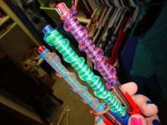 Image result for plastic lanyard woven pens