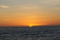 Sunrise over Algoa Bay, South Africa