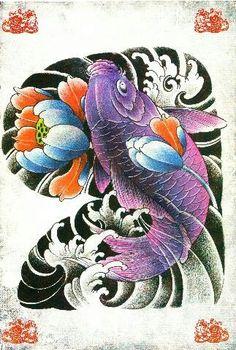 Tatuagem oriental/Orient tattoo/koi/Phoenix/Queixa