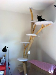 kratzbaum selber bauen 67 ideen und bauanleitungen ideensammler pinterest. Black Bedroom Furniture Sets. Home Design Ideas