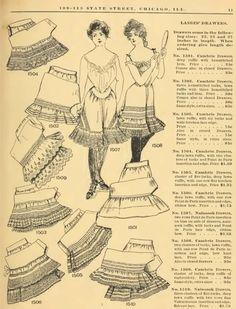 Edwardian Era Drawers