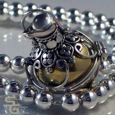 #Bali Sterling Silver Pendants Lockets Handcrafted Fair trade from www.secretgardengems.net  #Sylink