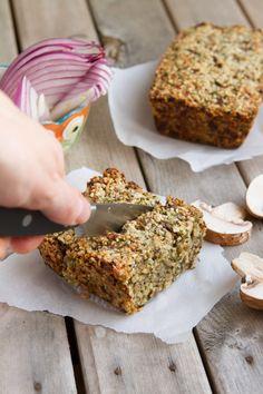 Low Carb Vegan Seed Loaf #lowcarb #keto #vegan
