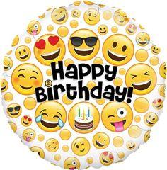 Trendy Ideas Birthday Love Wishes Fun Happy Birthday Emoji, Birthday Wishes For Lover, Happy Birthday Foil Balloons, Happy Birthday Video, Birthday Wishes Funny, Happy Birthday Quotes, Happy Birthday Images, Birthday Love, Birthday Pictures