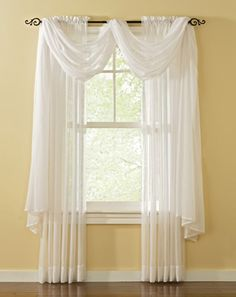 Crinkle Voile Sheer Erica Antique Drapery