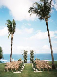 Katie Grant Photography Bali Wedding, Ungasan Clifftop Resort Small Beach Weddings, Beach Wedding Aisles, Bali Wedding, Dream Wedding, Cyprus Wedding, Modern Wedding Venue, Wedding Venues, Wedding Arches, Wedding Backdrops