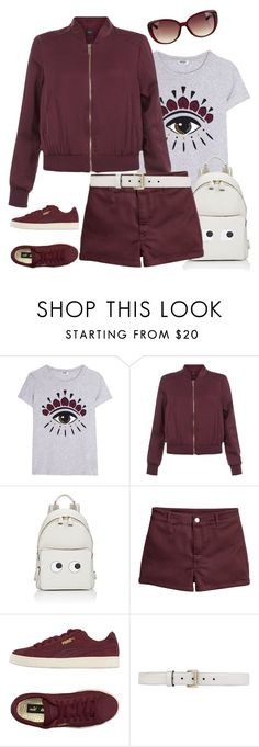 """Street chic"" by rasa-j ❤ liked on Polyvore featuring Kenzo, New Look, Anya Hindmarch, Puma and Gucci"