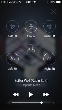 Surround system controls by Sergey Minkin