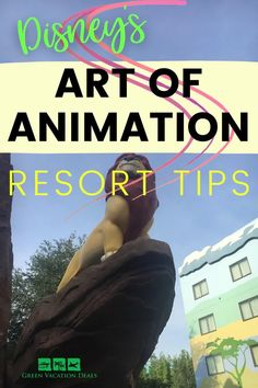 Disney's Art of Animation Resort travel tips. If you're thinking of staying at this Walt Disney World hotel on your next Florida vacation, you need to see this advice! These tips will help you save money by booking your trip on the best websites, find out which transportation options you should use when you get to Orlando, where to eat at the hotel Disney Vacation Planning, Disney World Planning, Vacation Deals, Florida Vacation, Disney World Hotels, Walt Disney World Vacations, Disney World Resorts, Disney Trips