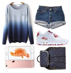 """Ombre mix"" by zafinaahmed ❤ liked on Polyvore featuring NIKE and Vera Bradley"