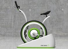 One Bike - Not sure how long it will take for you to make your investment back - but your heart will be in the right place! A regular bicycle that becomes an eco-friendly, electricity generating exercise bike when stationary.