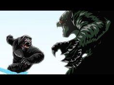 Godzilla vs. King Kong Animated (Part 3/3) - YouTube