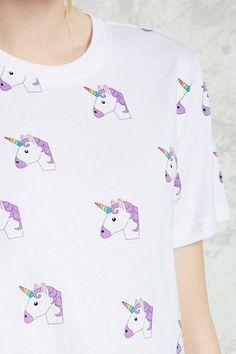 Unicorn Print Tee