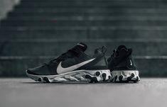 466c086f0b0d Nike React Element 55 Black White BQ6166-003 – Fastsole