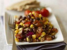 """Bohnensalat """"Mexiko"""" ist ein Rezept mit frischen Zutaten aus der Kategorie Gemüsesalat. Probieren Sie dieses und weitere Rezepte von EAT SMARTER!"""