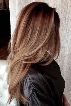Long layered hair styles allow for a lot of diversity when it comes to styling long haircuts. We have composed a list of some of our favorite long haircuts for long layered hair. Have fun and choose the one that best suits your style and features. Haircuts For Long Hair With Layers, Haircuts For Medium Hair, Long Layered Haircuts, Long Hair Cuts, Medium Hair Styles, Long Hair Styles, Bob Haircuts, Layered Hairstyles, Hairstyles 2016