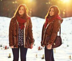 WINTER SUNSET (by Aleksandra Valentine Skorykow ☽) http://lookbook.nu/look/4365701-WINTER-SUNSET