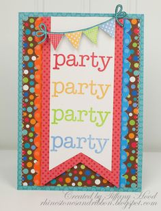 Party Card  by Tiffany Hood