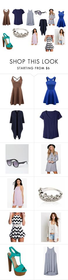 """""""under $15"""" by izzybellah-1 on Polyvore featuring Chicnova Fashion, Miss Selfridge, LAmade, ASOS, Boohoo, Forever 21 and Theory"""