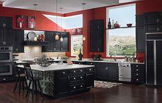 kitchens in black