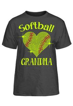 Softball Grandma Basic Tee