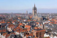 Four Best Day Trips from Amsterdam : Waterland, Zaanse Schans, Delft, Kinderdijk