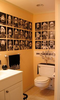 Monkey Bathroom Decor Ideas personalized shower curtain - isn't it a great idea for the family