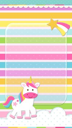 #unicorn #cute #wallpaper