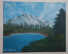 Spring Landscape, Oil Painting On Canvas, Paintings, Mountains, Shop, Travel, Etsy, Viajes, Paint