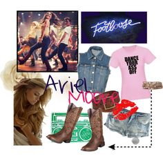 """""""Footloose: Ariel Moore"""" by fortunacookie on Polyvore Ariel Footloose, Country Outfits, Country Life, Halloween Costumes, Shoe Bag, Polyvore, Clothes, Collection, Shopping"""