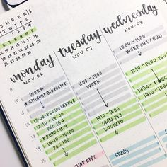 """cindy 🌻 auf Instagram: """"new bullet journal layout this week! trying out new things so i can be prepared for my second round of midterms next week 😭 what year in…"""""""