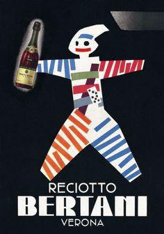 #Bertani #Vintage #Wine #Poster Collection no.3. One of the most prestigious cellars in #Valpolicella #Valpantena