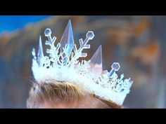 How To Make An Elsa Ice Queen Crown! - YouTube