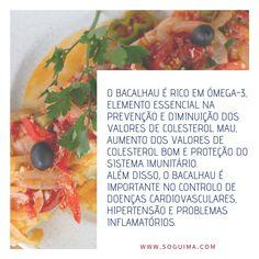 Benefícios do Bacalhau Reymar Ale, Photo And Video, Ethnic Recipes, Instagram, Food, Cardiovascular Disease, Cod, Middle, Meal
