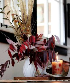 Fall Decor, Ushering in Autumn, http://bec4-beyondthepicketfence.blogspot.com/2015/09/ushering-in-autumn-bit-by-bit.html