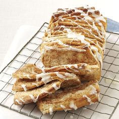 Mulitgrain Cinnamon Pull-Apart Loaf (and Rolls) Recipe from from Taste of Home