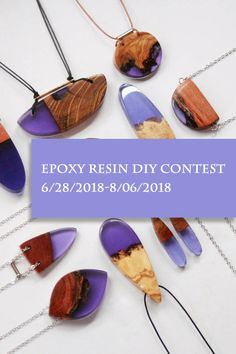 First 50 applicants can get free supplies kit for the Epoxy Resin DIY contest. Epoxy Resin Art, Uv Resin, Craft Projects, Craft Ideas, Fun Ideas, Wood Projects, Bracelet Making, Jewelry Making, Diy Resin Crafts