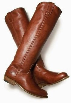 Classic brown riding long boots for ladies