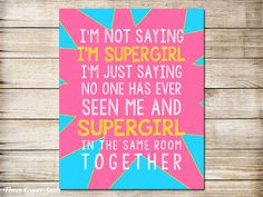 **USE coupon code PIN10 for 10% off!** Girl Superhero Party Wall Decor by ThreeGypsySouls