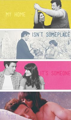 my home isn't a place, it's someone, it's you♔ Finchel <3 #Glee