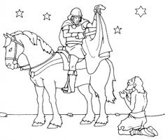 Saint Martin De Porres Coloring Page Coloring Pages – Coloring for every day Flag Coloring Pages, Flower Coloring Pages, Free Printable Coloring Pages, Coloring Pages For Kids, Coloring Books, Goulash, St Martin Of Tours, Diy Halloween Dekoration, Kindergarten Portfolio