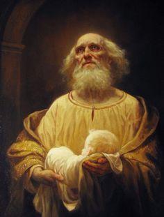 Andrey Shishkin, Intampinarea Domnului de catre Sfantul Simion, primitorul de Dumnezeu