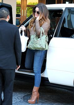Love these boots and the balenciaga bag!