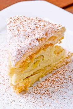 Massa & Tortas Doces - Torta Folhada de Banana - Bem Feitinho