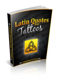 Latin Quotes For Tattoos -- or not, just interesting latin!