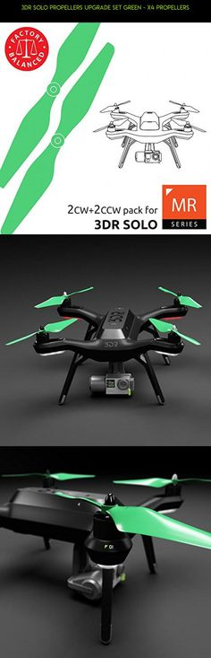 3dr Solo Propellers Upgrade Set Green - x4 propellers #3dr #plans #camera #fpv #gadgets #iris #products #plus #technology #kit #parts #drone #tech #shopping #racing