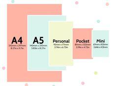 Filofax Einlagen welche-maße-a5-personal