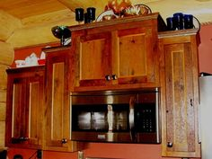BARNWOOD KITCHEN CABINETS  Custom Cabinets by ViennaWoodworks, $5000.00